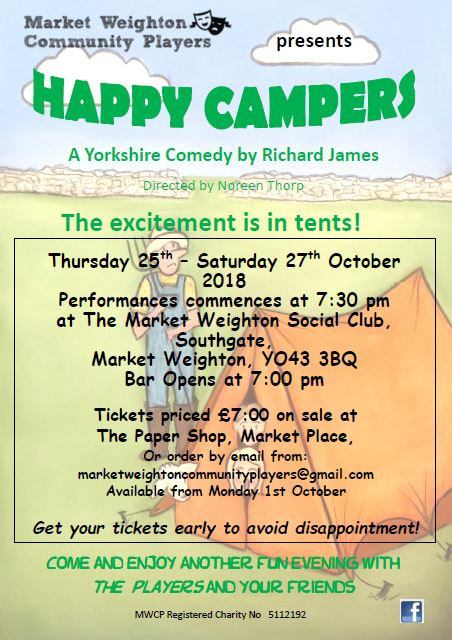 Happy Campers Poster3